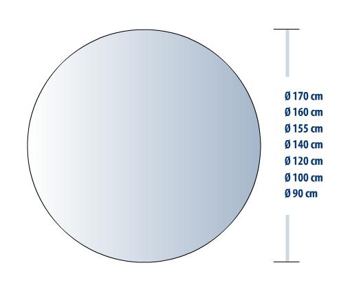 Tavolo Tondo Diametro 100.Tavolo Rotondo Cherubini Gup